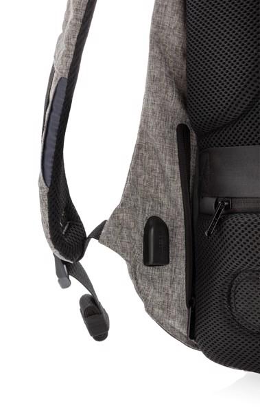 Bobby anti-theft backpack - Grey