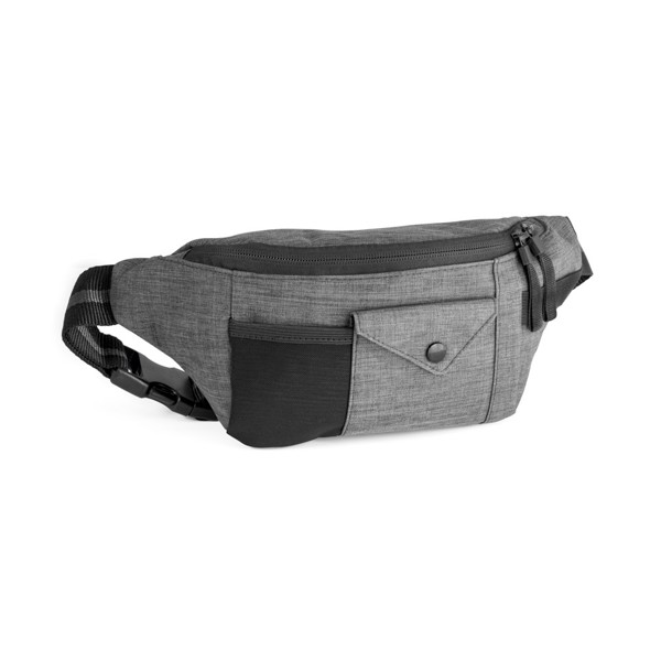 MUZEUL. Waist pouch in 300D - Grey