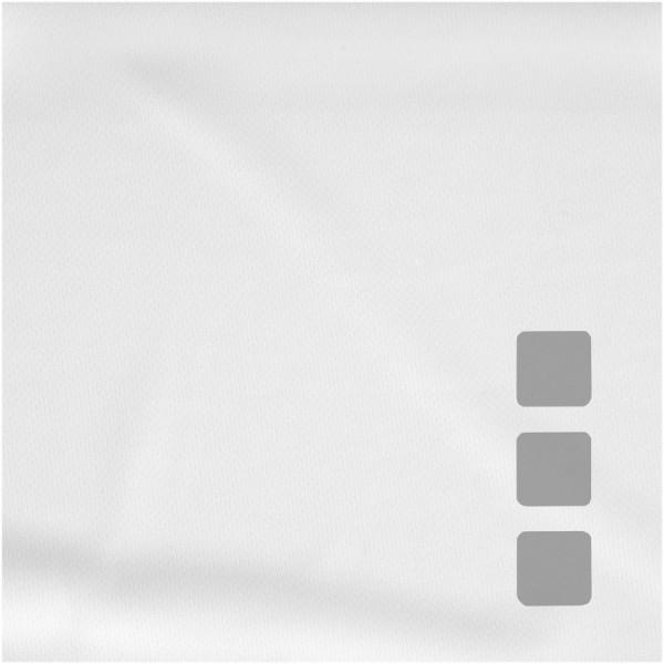 Dětské triko Niagara s krátkým rukávem, s povrchovou úpravou - White Solid / 104