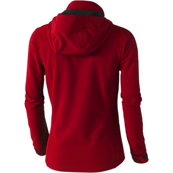 Langley softshell ladies jacket - Red / S