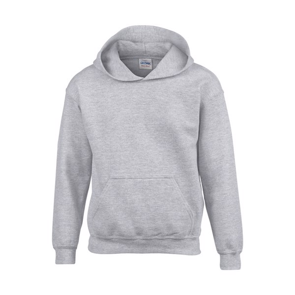 Kids Sweatshirt 255/270 g/m Blend Hooded Sweat Kids 18500B - Sport Grey (Rs) / XL