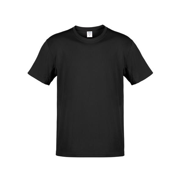 Camiseta Adulto Color Hecom - Negro / XXL