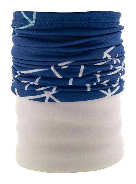 Individueller Multifunktionsschal CreaScarf Winter - Weiß