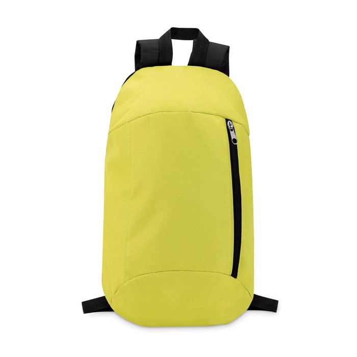 Backpack with front pocket Tirana - Lime