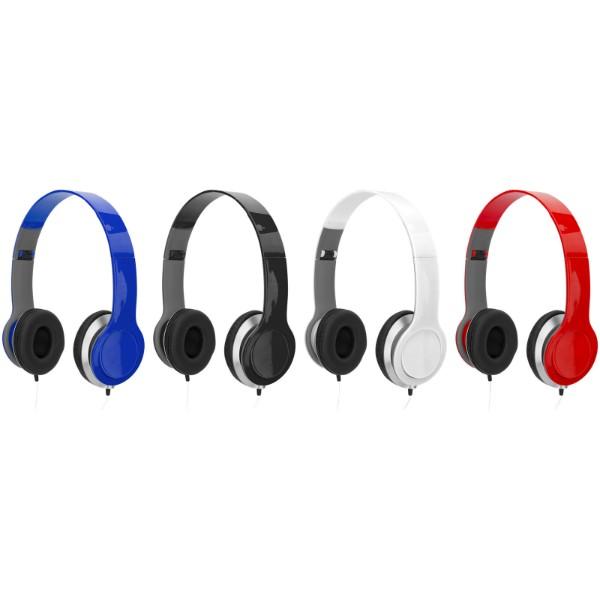 Cheaz foldable headphones - Red