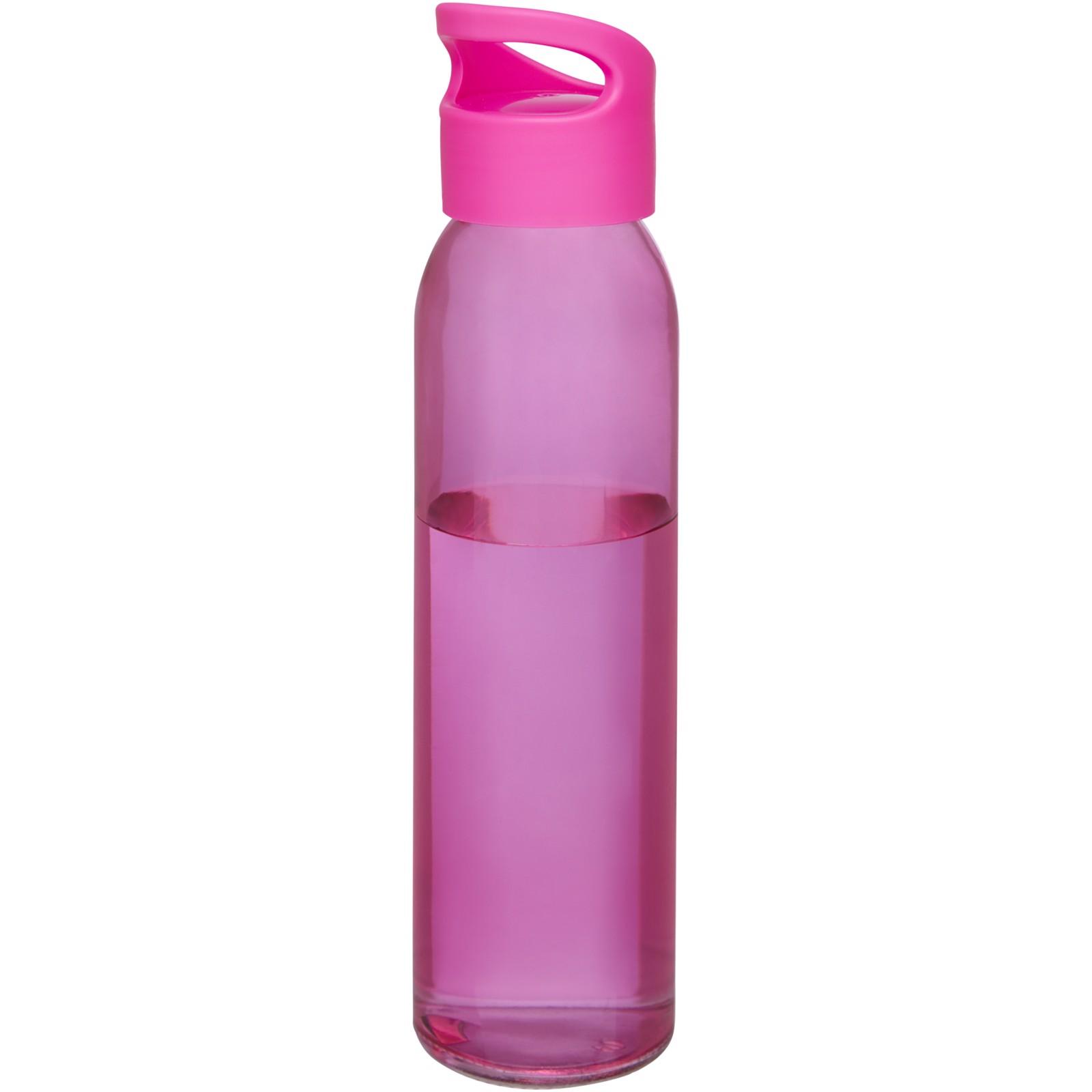 Sky 500 ml glass sport bottle - Pink