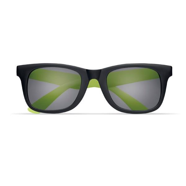2 tone sunglasses Australia - Lime
