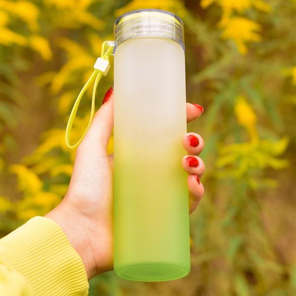 Butelka szklana Invigorate 400 ml - Zielony