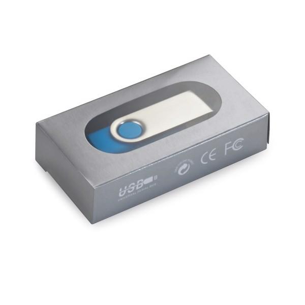 CLAUDIUS 4GB. 4 GB USB flash disk - Bílá
