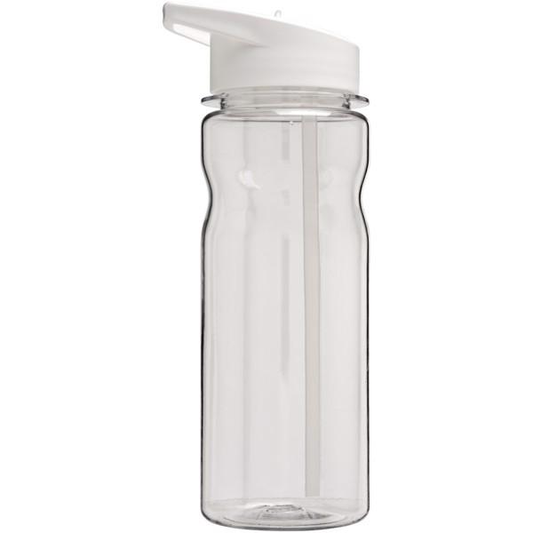 H2O Base Tritan™ 650 ml spout lid sport bottle - Transparent / White