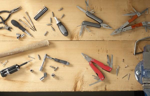 Aluminium tool set