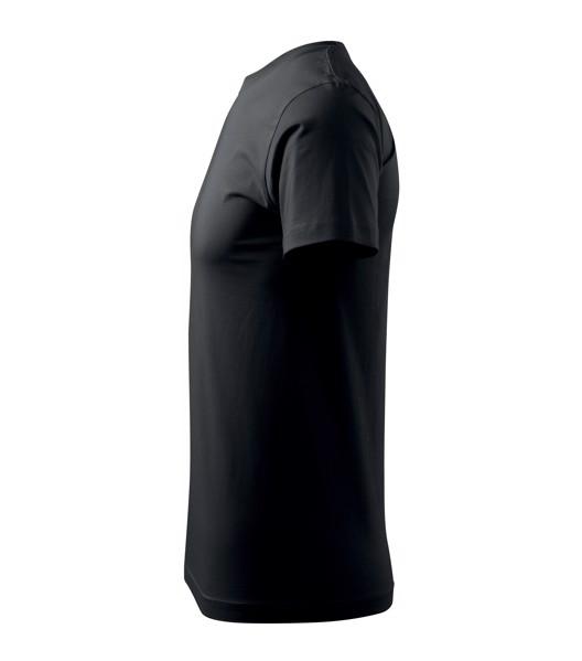 Tričko pánské Malfini Basic - Černá / 5XL