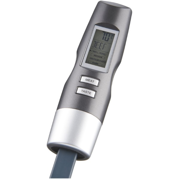Wells digital fork with thermometer