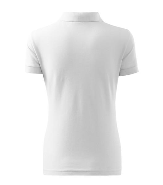Polokošile dámská Malfini Cotton Heavy - Bílá / XS