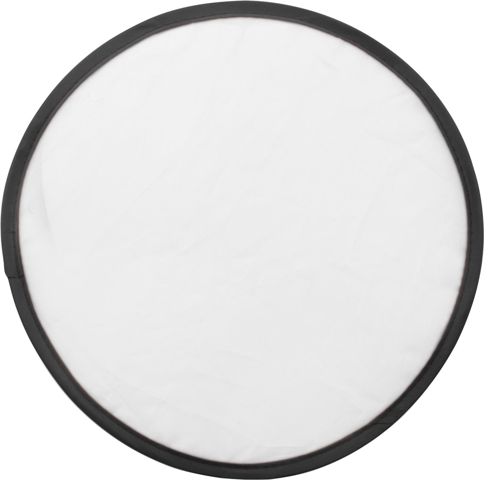 Nylon (170T) Frisbee - White