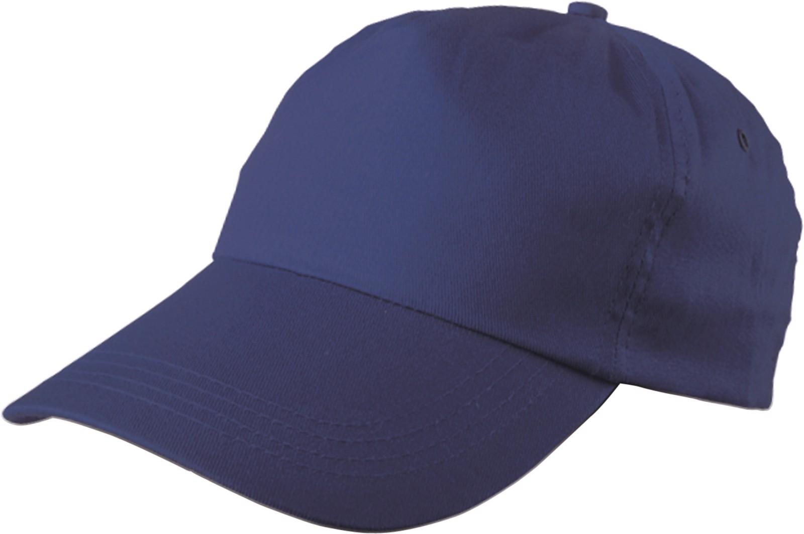 Cotton twill cap - Cobalt Blue