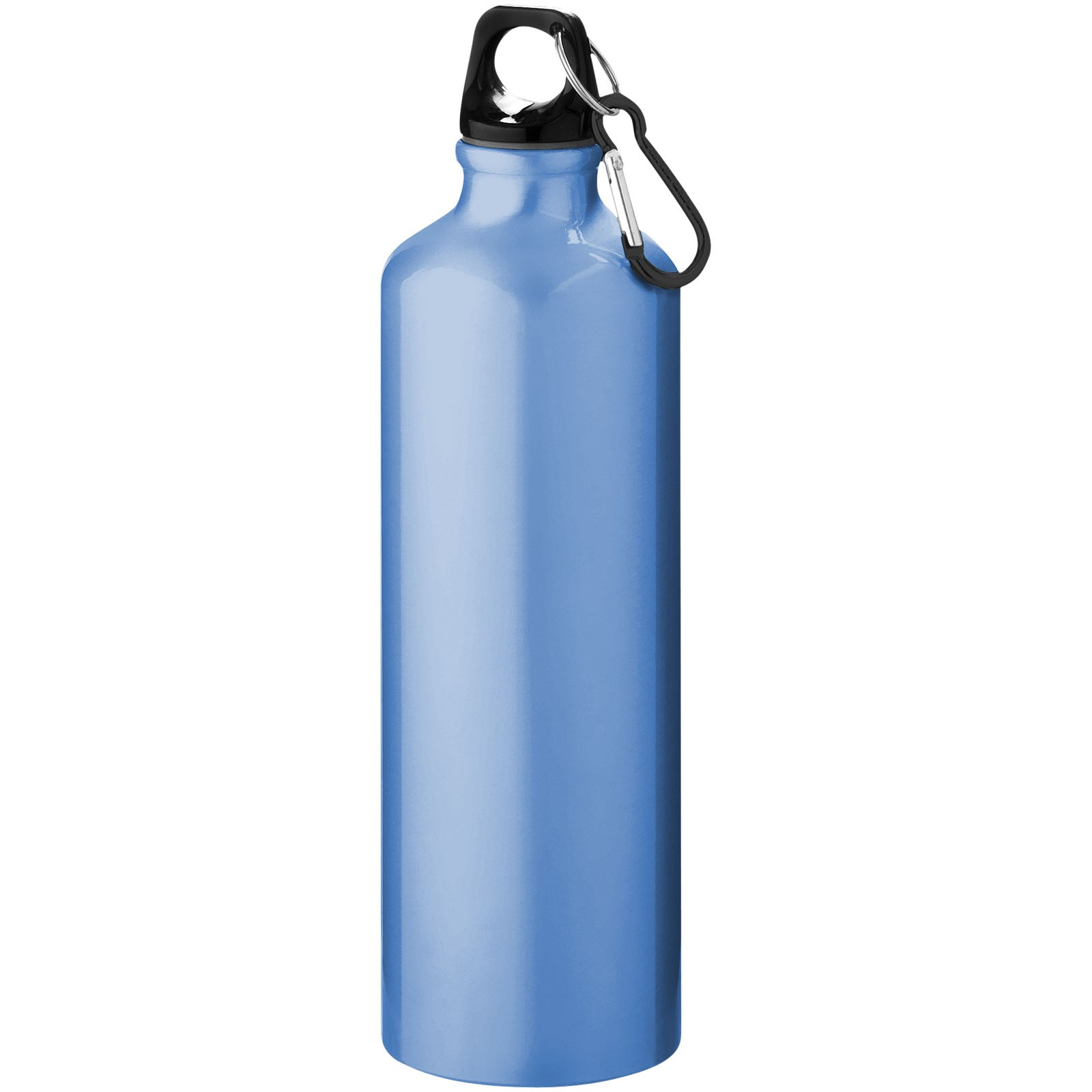 Pacific 770 ml sport bottle with carabiner - Light blue