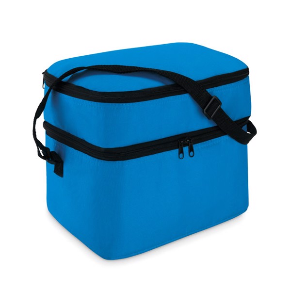 Cooler bag with 2 compartments Casey - Royal Blue