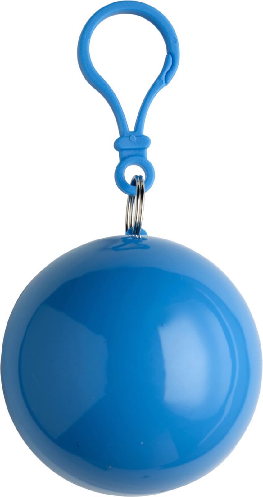 PVC poncho - Light Blue