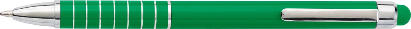 Aluminium lacquered ballpen - Light Green