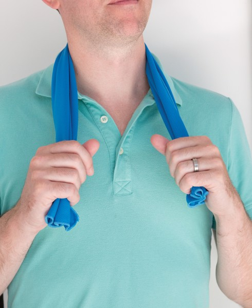 Chladící ručník - Modrá