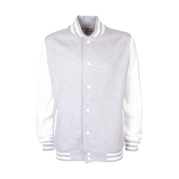 Unisex jacket 300 g/m2 Varsity Jacket Fv001 - Sport Grey (Rs) / XXL