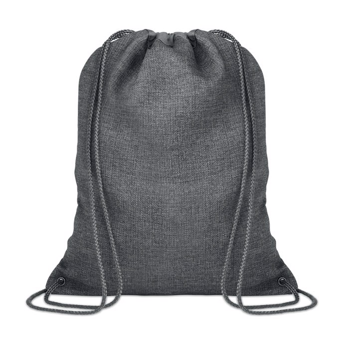 Ocieplana torba ze sznurkiem Tocayo - szary