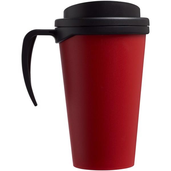 Termo hrnek Americano® grande 350 ml - Červená s efektem námrazy / Černá