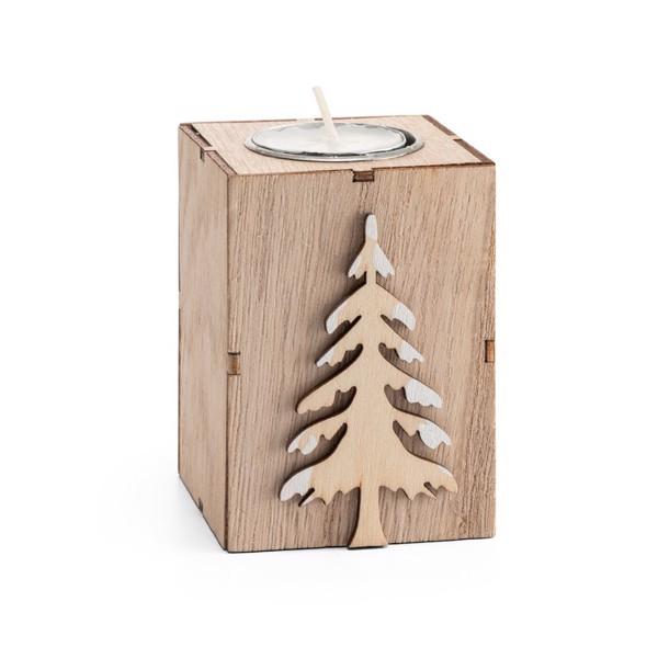 SCENT. Candle holder - Natural