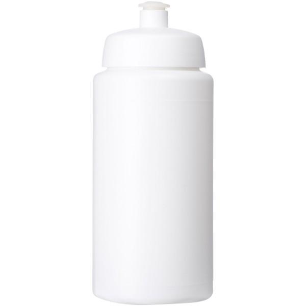 Baseline® Plus grip 500 ml sportovní lahev s víčkem na sport - Bílá