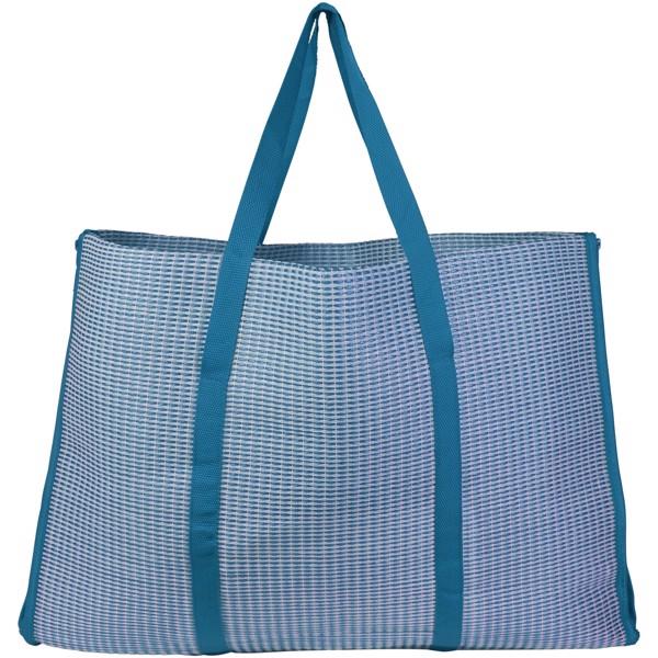Skládací plážová taška a podložka Bonbini - Process Blue