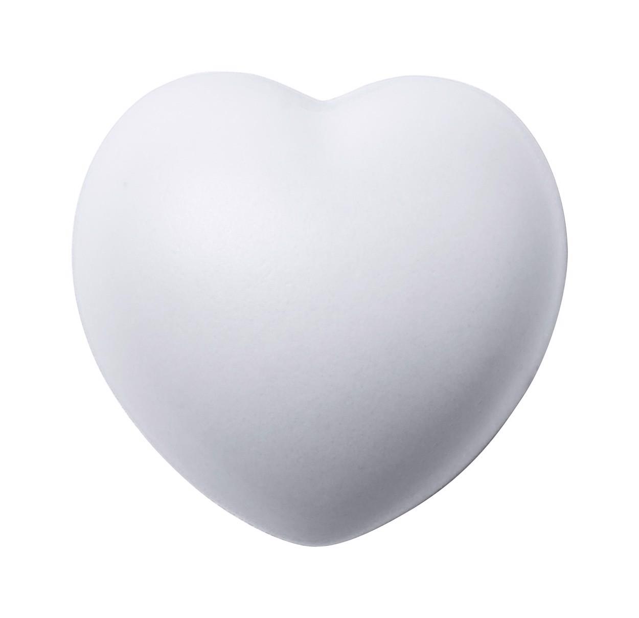Antistresové Srdíčko Ventry - Bílá