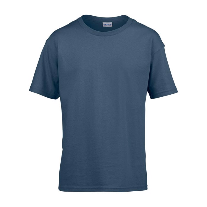 Kids t-shirt 150 g/m² Kids Ring Spun T-Shirt 64000B - Indigo Blue / L