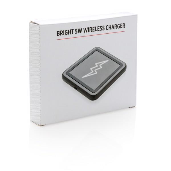 Light up bezdrátová nabíječka 5W