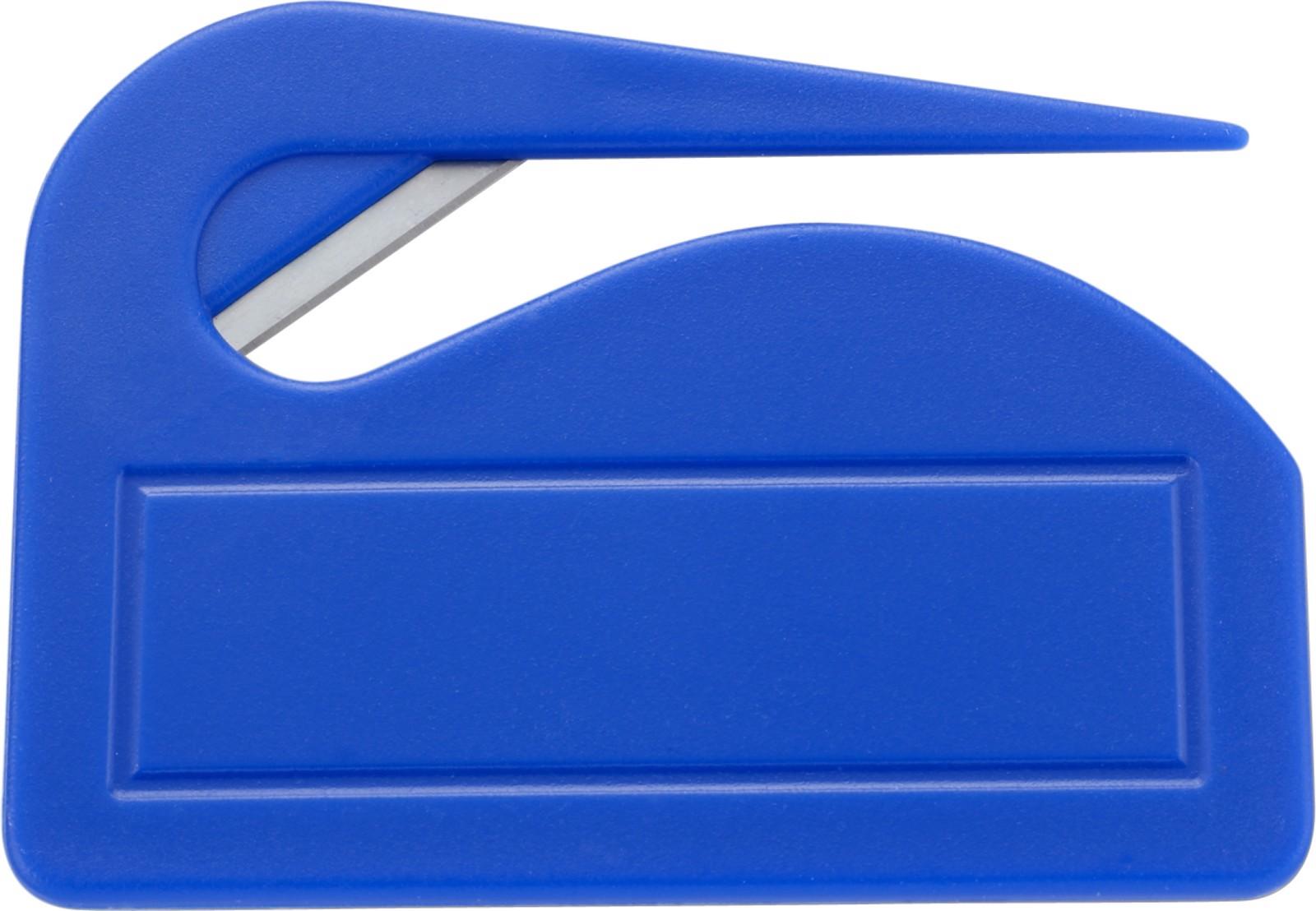 PS letter opener - Cobalt Blue