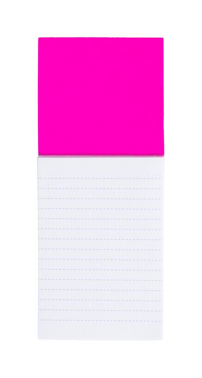 Blok S Magnetkou Sylox - Růžová