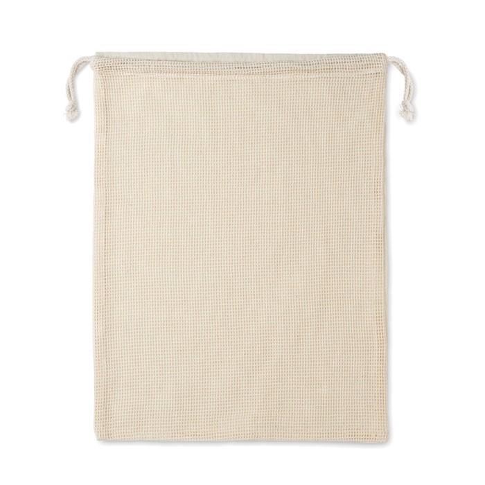 Mrežasta bombažna vrečka za živila za večkratno uporabo Veggie