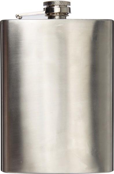 Petaca de acero inox.