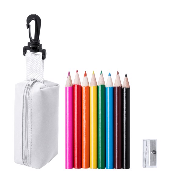 Coloured Pencil Set Migal - White