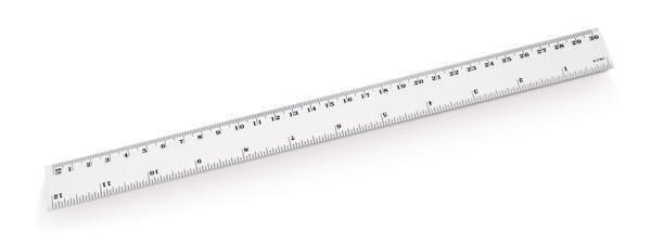 RULER. Pravítko 30 cm