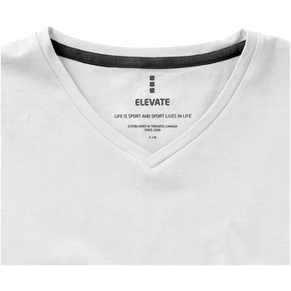 Kawartha short sleeve women's GOTS organic t-shirt - White / XL