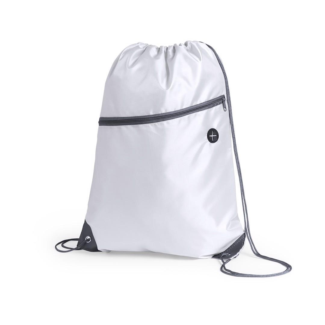 Drawstring Bag Blades - White