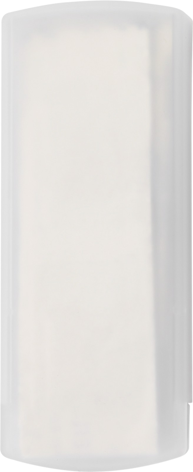 Plastic case with plasters - White