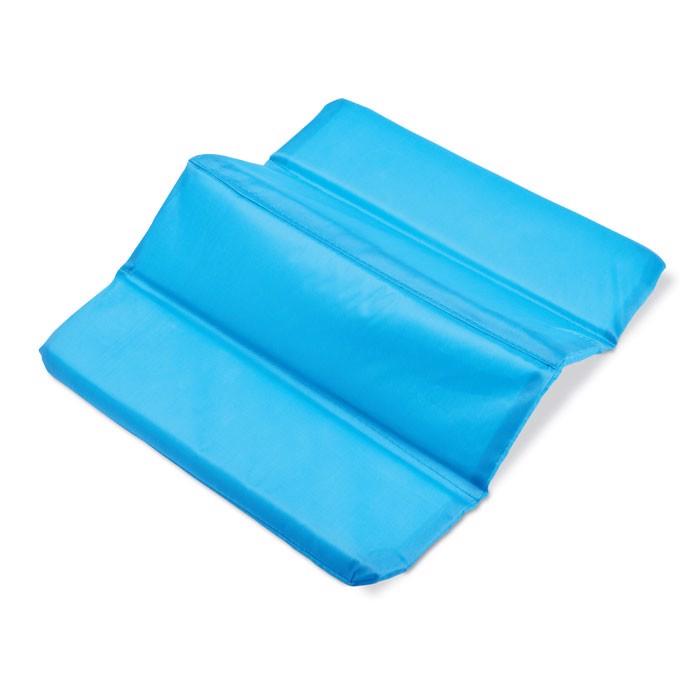Folding seat mat Moments - Heaven Blue