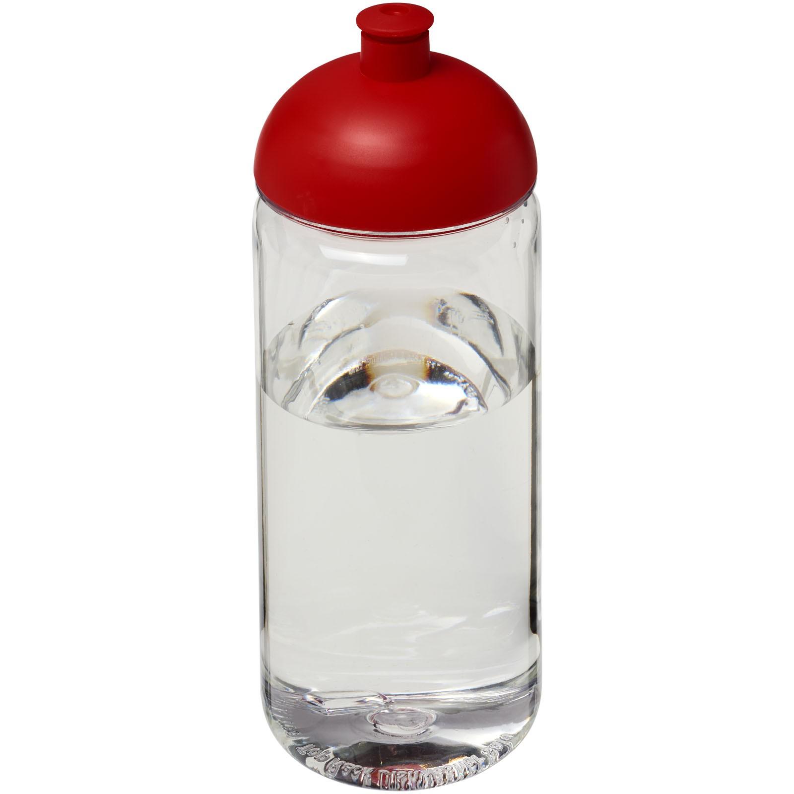H2O Octave Tritan™ 600 ml dome lid sport bottle - Transparent / Red