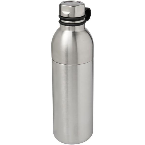 """Botella de 590 m con aislamiento de cobre al vacío """"Koln"""" - Plateado"""