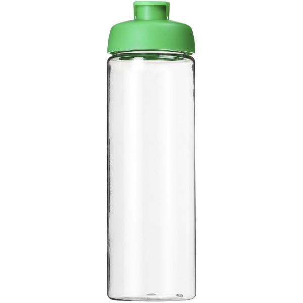H2O Vibe 850 ml sportovní lahev s vyklápěcím víčkem - Průhledná / Zelená