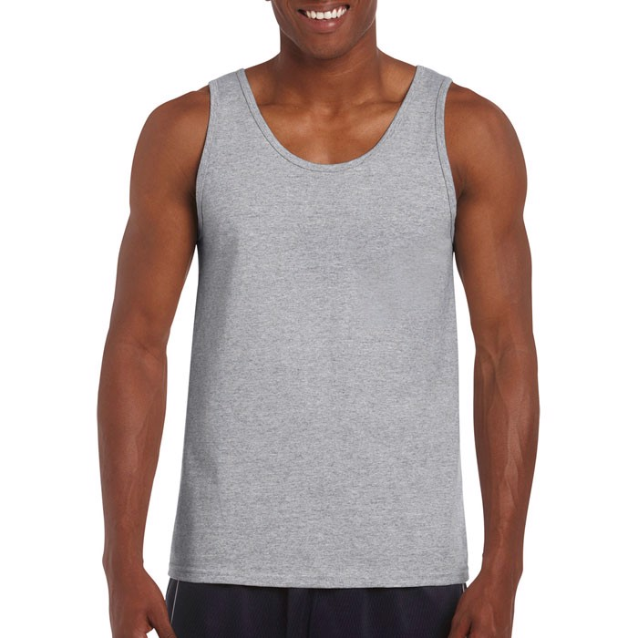 Tank Top 150 g/m² Softstyle Adult Tank Top - Sport Grey / M