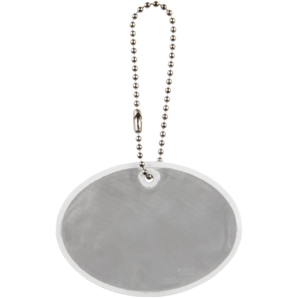 Reflective hanger round large - White