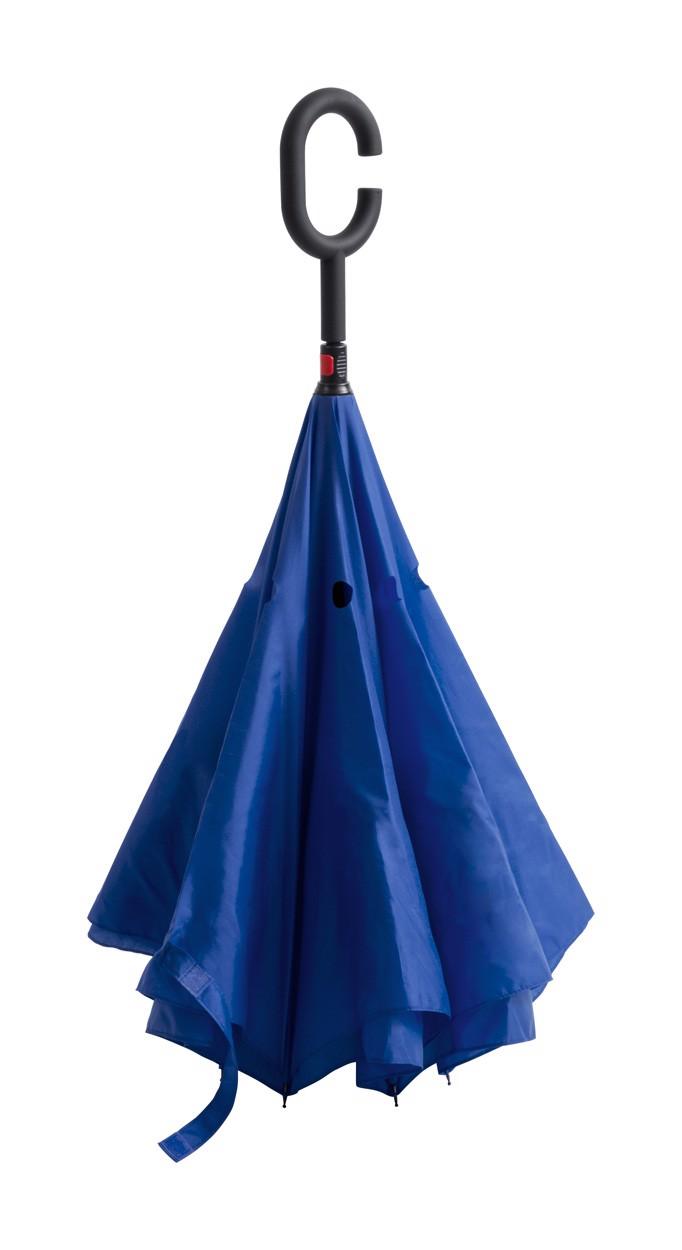 Oboustranný Deštník Hamfrek - Modrá